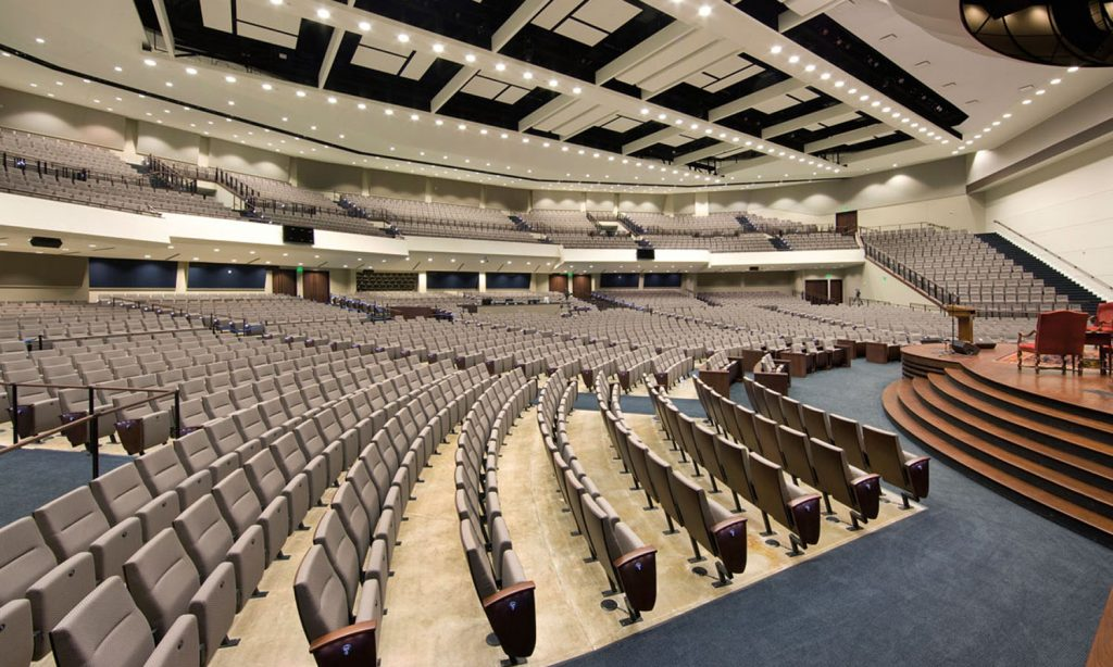 Worship Center Seating